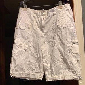 Size 14 white shorts
